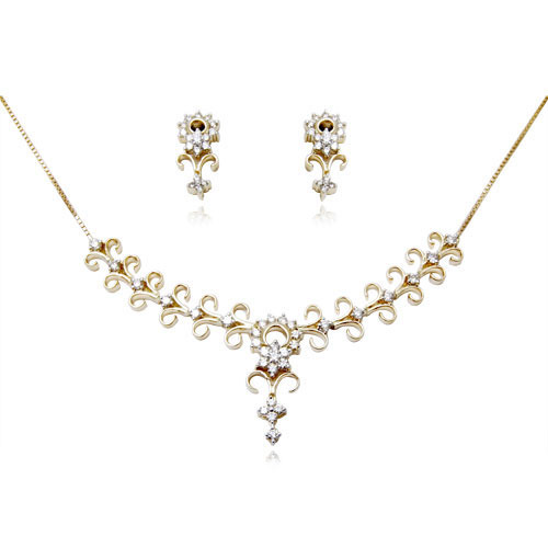model south grams jewels gold pin india necklace