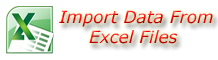 Import Data Form Excel Files