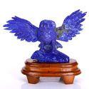 水晶动物雕像