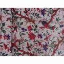 Handmade Printed Kantha Quilt