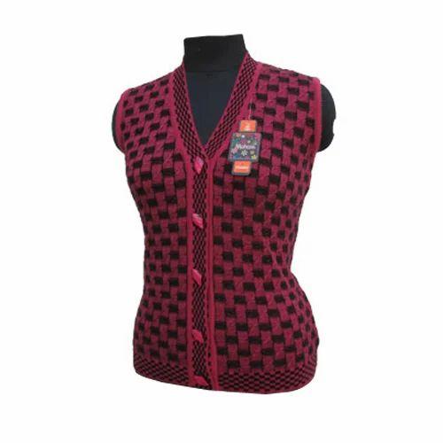 6a406a13145e6e Designer Sleeveless Cardigan