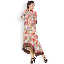 Designer Trendy Printed Tunic Long Kurti
