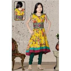 Girls Anarkali Churidar Suits
