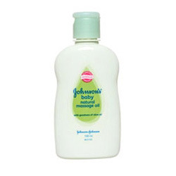 Johnson''s Baby Natural Massage Oil