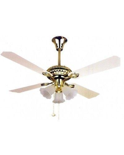 Blumac 3 Light Ceiling Fan Antique Brass At Rs 5007 Pack Ceiling Fans Id 10026635088