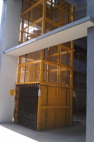 Car Lifts For Home >> Goods Lifts - Industrial Cage Lifts Manufacturer from Ahmedabad