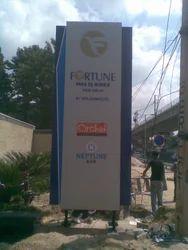 Monolith Pole Sign