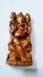 Sandalwood Ganesh Statue