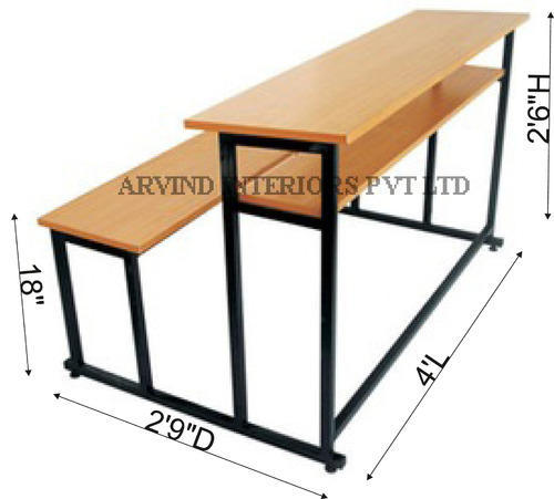 School Desks Arvind Interiors Private Limited