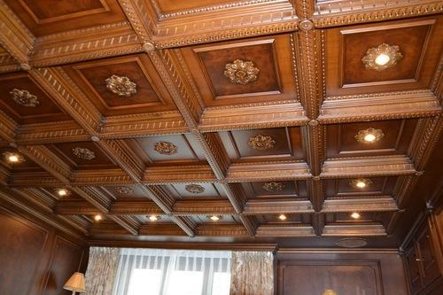 Office Wooden Ceiling Service