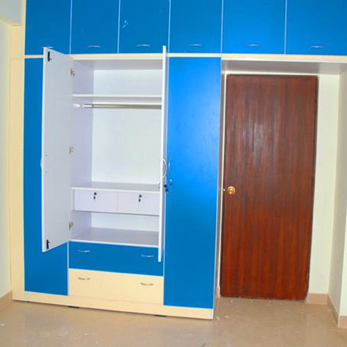 Aluminium Modular Kitchen At Rs 1100 Square Feet: Modular Bedroom Wardrobes India