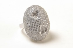 Silver Fancy Ring