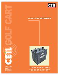 Exide Golf Cart Battery
