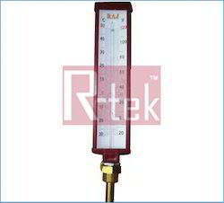 Industrial Thermometers - Alcohol Stem Thermometer Exporter from Delhi