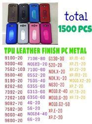 Leather Finish Pc Metal Covers