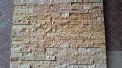 Teakwood Sandstone Split Face Wall Panels
