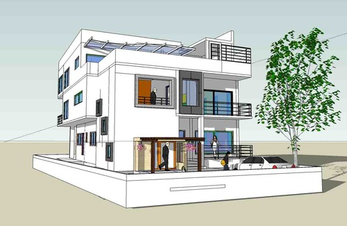Residential building designing services in hosur vasthu - Architectural design photos of a home ...