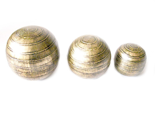 Metal Decorative Balls Impressive Metal Decorative Balls  Exotic India  Manufacturer In Delhi Road Design Inspiration