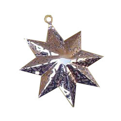 Brass Hanging Star