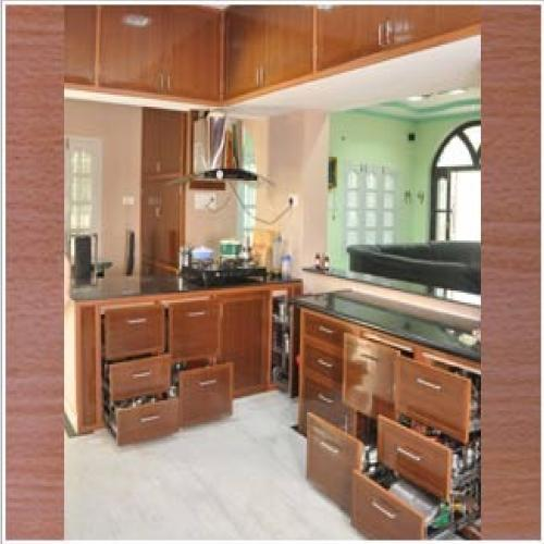 Pvc kitchen cabinets manufacturer from greater noida for Best material for kitchen cabinets in india