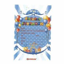 Birthday Invitation Pad