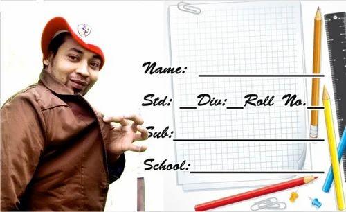 Children''s School Name Slip, Dj Shivam's Advertising
