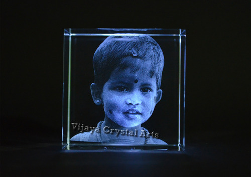 3d Face Crystal Gift And Crystal Awards Manufacturer