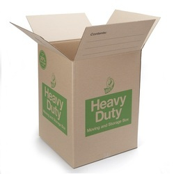 Cardboard Heavy Duty Corrugated Shipping Box, For Packaging, Box Capacity: 5 kg