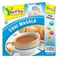 BITTA Natural Chai Masala, Crystal, Packaging Type: Packet