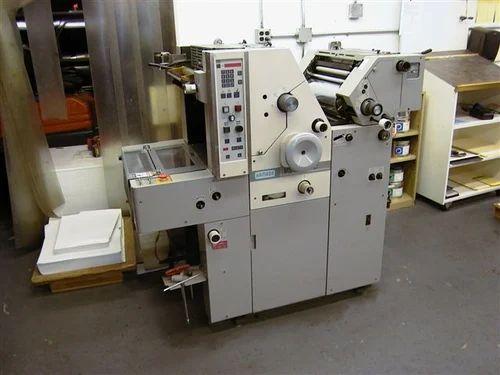 Hamada Mini Offset Printing Machine Hamada Vs 34 Printing Machine Manufacturer From Delhi
