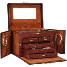 Leather Jewelry Box