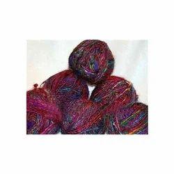 Recycled Sari Silk Knitting Yarns, Usage: Weaving, Handicraft