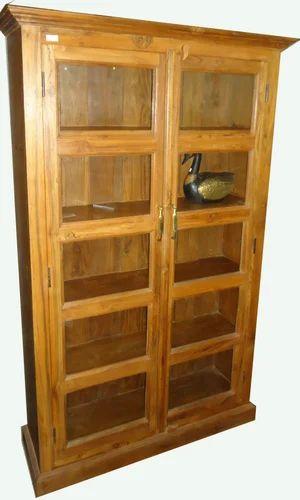 Sheesham Wood Furniture Teak Wood Book Cabinet