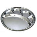 Deluxe 5 Compartment Thali