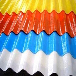 Multicolor Fiber Sheet, For Commercial, Size: Standard