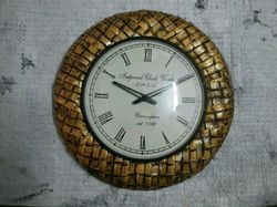 Decorative Metal Wall Clock