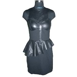 Girls Leather Dress