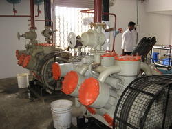 NH3 Compressor Assembly