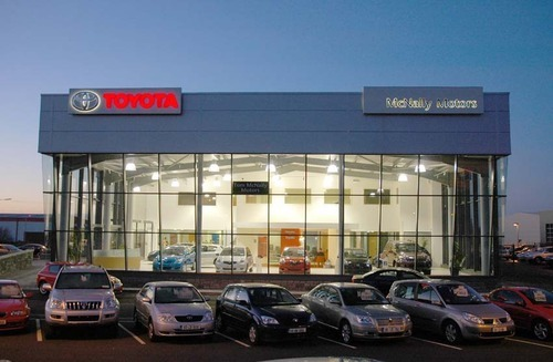 All Type Of Car Showrooms And Workshop Space In Mundka Delhi - Car showrooms