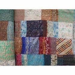 Silk Handmade Pachwork Quilt