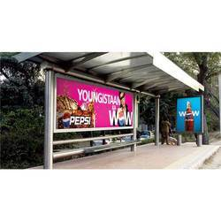 Advertising Screen Bus Shelter
