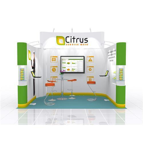 Exhibition Stall Size : Expo prestige modular exhibition stall hindustan digital and