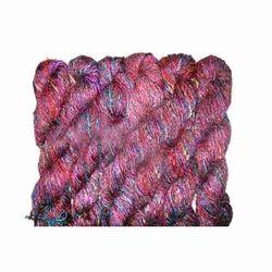 Recycled Sari Silk Yarns, Usage: Weaving