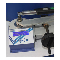 torque wrench calibrator moving handle