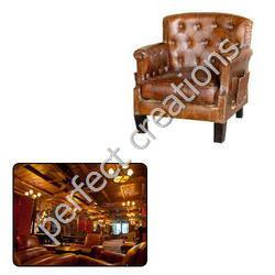 Vintage Leather Furniture for Hotel