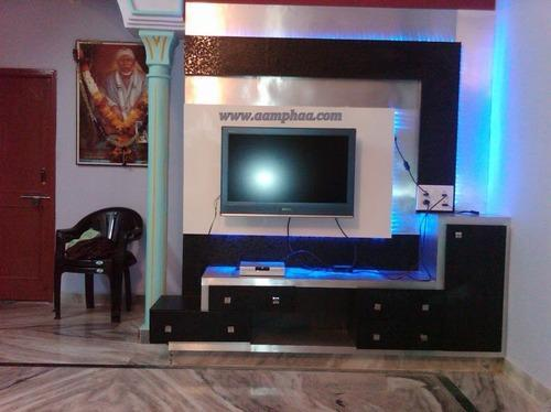 Tv Unit With Showcase At Rs 27000 Piece S Tv Wall Unit
