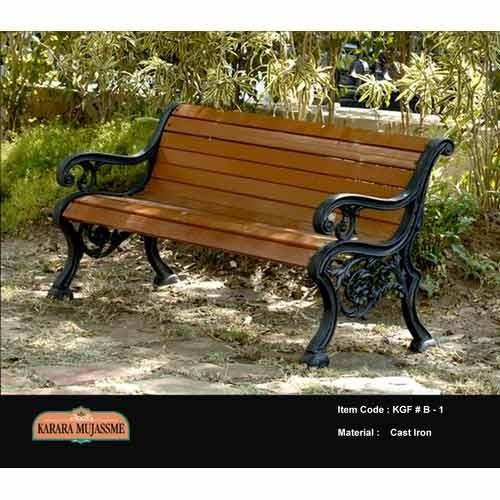 Two Seater Outdoor Wooden Bench