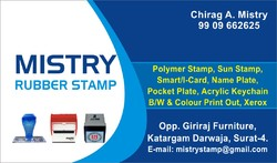 Polymer stamp all type of rubber stamp manufacturer from surat colourmoves