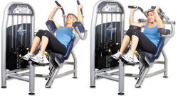 Abdominal Crunch Bench Machine
