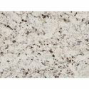 Polished 2ft Up To 3 Ft X 6- 8 Ft Moon White Granite Slab, For Flooring, Thickness: 15-20 Mm